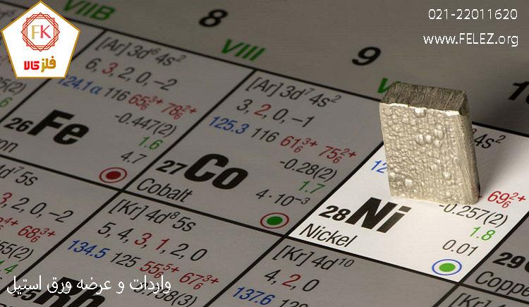 کاربرد نیکل در تولید ورق استیل